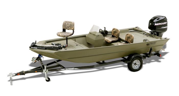 Lowe tiller boats